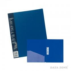Carpeta A4 c/Apretador y Bolsillo Azul