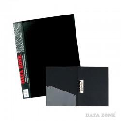 Carpeta Oficio c/Apretador y Bolsillo Negro