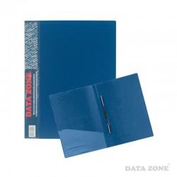 Carpeta A4 c/Clip Gusano y Bolsillo Azul