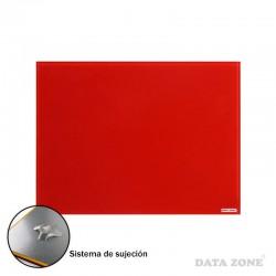 Pizarra de Vidrio Pared 45x60 Rojo