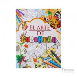 Libro El Arte de Colorear