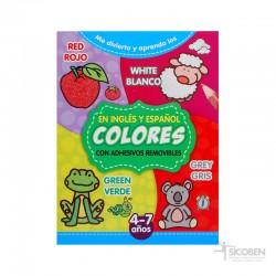 Libro Me Divierto y Aprendo Colores