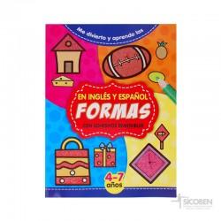 Libro Me Divierto y Aprendo Formas