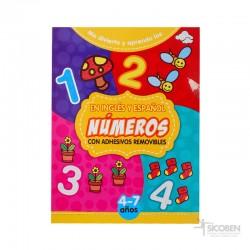 Libro Me Divierto y Aprendo Números
