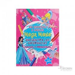Libro Megamente Hadas y Princesas