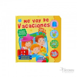 Libro Abre y Descubre Vacaciones