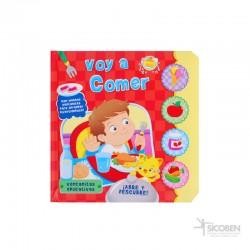 Libro Abre y Descubre Comer