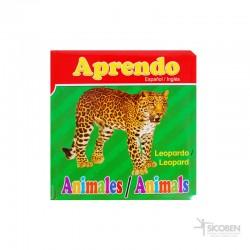 Libro Aprendo Animal Español/Inglés