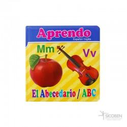 Libro Aprendo ABC Español/Inglés