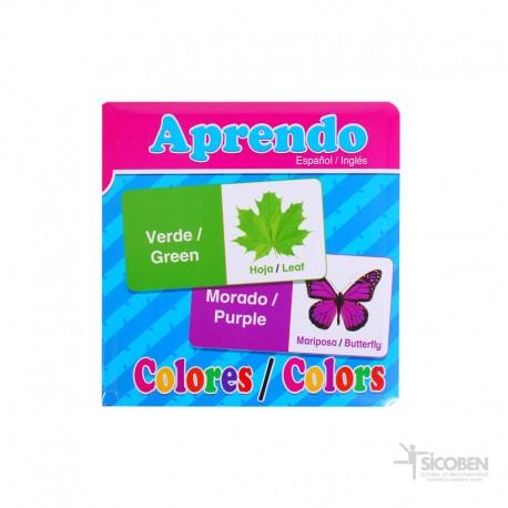 Libro Aprendo Color Español/Inglés