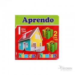 Libro Aprendo Número Español/Inglés