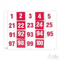 Número 1-100 Magnético