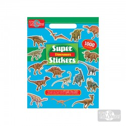 Block Stickers Dinosaurios 1000 u