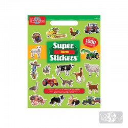 Block Stickers de la granja 1000 u