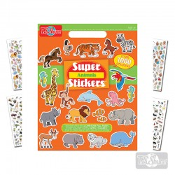 Block Stickers Animales 1000 u