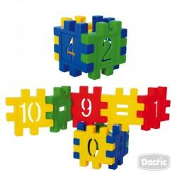 Encaje Conectable con Número