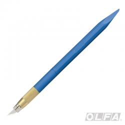 Cuchillo Tipo Lápiz Ángulo de 30° Azul