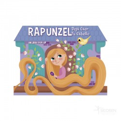 Libro POP UP Rapunzel