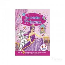Libro Tus Colores Princesa