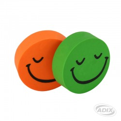 Goma Borrar Plástica Carita Smile