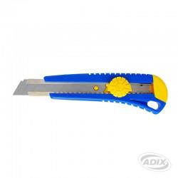 Cuchillo 18 mm con Seguro Manual
