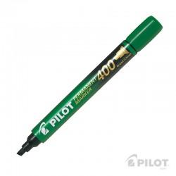 Marcador Permanente SCA400 Biselado Verde PILOT