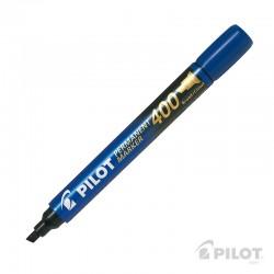 Marcador Permanente SCA400 Biselado Azul PILOT