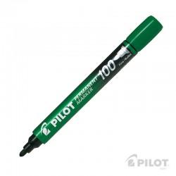 Marcador Permanente SCA100 Fino Verde PILOT