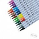 Set de Brush Pen 24 Colores ADIX