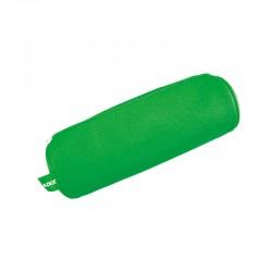 Estuche Escolar Tubular Verde Neón
