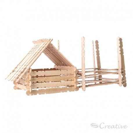 Palitos de Madera Construcción