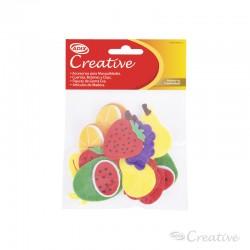 Frutas Pañolenci Adhesivo