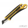 Cuchillo Industrial con Incrustación Antideslizante con Agujero de Enganche y Seguro Automático