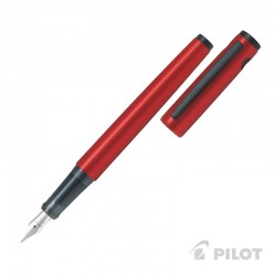Pluma Explorer Rojo Metalico CAJA PILOT