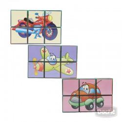 Puzzle Magnético 6pzs