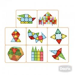 Pieza Geométrica Magnética 3D 100u