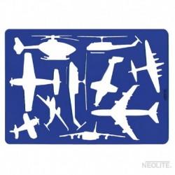 Plantilla Medios de Transporte Aéreos