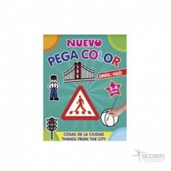 Libro Pega Color Cosas de la Ciudad