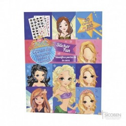 Libro Caritas Princesas, Hadas y Sirenas