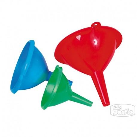 Set Embudo Plástico