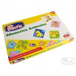 Memorice Animales de Cartón