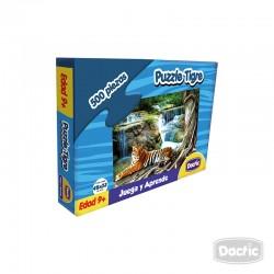 Puzzle Tigre Cartón 500pzs