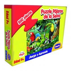 Puzzle Pájaro Selva Cartón 500pzs