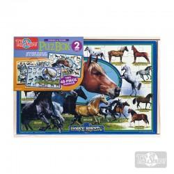 Puzzle Caballo 24pzs 2u