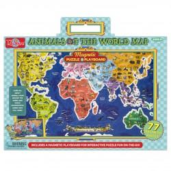 Puzzle Mapa Magnético 77pzs