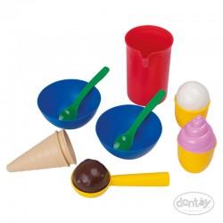 Set de heladería 13 pzs