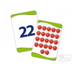 Láminas Cuenta y Aprende Números 0 al 25