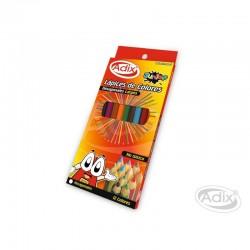 Lápices de Colores Hexagonales