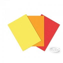 Láminas Pañolenci Amarillo-Naranja-Rojo
