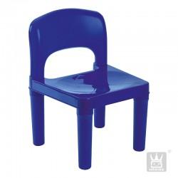 Silla Plástica Azul